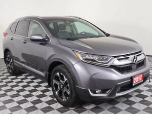 2017 Honda CR-V TOURING w/HEATED LEATHER, PANORAMIC ROOF, NAVIGA
