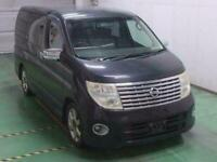 NISSAN ELGRAND 3.5 4X4 HIGHWAY STAR AUTOMATIC 8 SEATER CAMPER * HALF LEATHER *