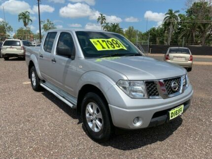 2012 Nissan Navara D40 RX Silver 5 Speed Manual Dual Cab Holtze Litchfield Area Preview
