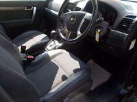 CHEVROLET CAPTIVA 2.0 LT VCDI 5d AUTO 148 BHP (black) 2011