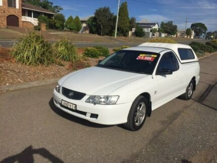 2003 Holden Ute VY S White Automatic Utility