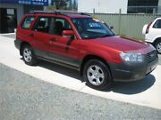 2006 Subaru Forester MY06 X Red 5 Speed Manual Wagon Tuncurry Great Lakes Area Preview