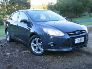 2014 Ford Focus LW MkII Trend PwrShift Grey 6 Speed Sports Automatic Dual Clutch Hatchback Morphett Vale Morphett Vale Area Preview