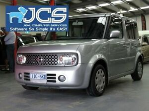2007 Nissan Cube Silver Constant Variable Wagon Bayswater Knox Area Preview