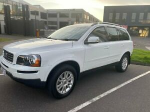 2008 Volvo XC90 P28 MY08 D5 White 6 Speed Sports Automatic Wagon South Melbourne Port Phillip Preview