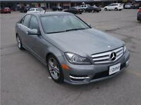 2012 Mercedes C300 4MATIC - Low bi-weekly payments! - $0 Down!