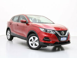 2019 Nissan Qashqai J11 MY18 ST Magnetic Red Continuous Variable Wagon