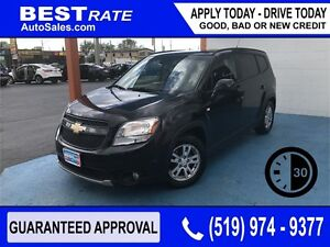 CHEVY ORLANDO - APPROVED IN 30 MINUTES! - ANY CREDIT LOANS!