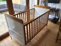 Cot Bed cotbed Tutti Bambini - Good Condition