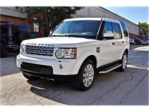 2012 Land Rover LR4 LUX Limited Edition, 7 SEATER, FULL OPTIONS