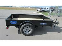 2016 SINGLE AXLE 10FT UTILITY TRAILER W/METAL SIDES 3500 LB GVW