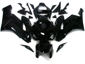 BLACK FAIRING BODYWORK COWL FOR 2004 2005 HONDA CBR 1000 RR CBR1000RR 04-05 NEW