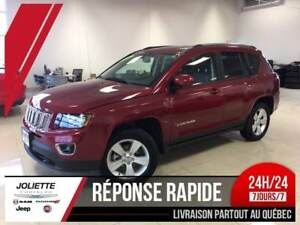 2016 Jeep Compass North High Altitude, 4X4, CUIR,BLUETOOTH, MAG,