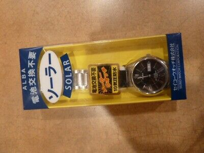 Seiko Alba Solar Mens Watch - New with Tags - AEFD555