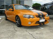 2006 Ford Falcon BF MkII XR6T Orange 6 Speed Auto Seq Sportshift Sedan Caboolture South Caboolture Area Preview