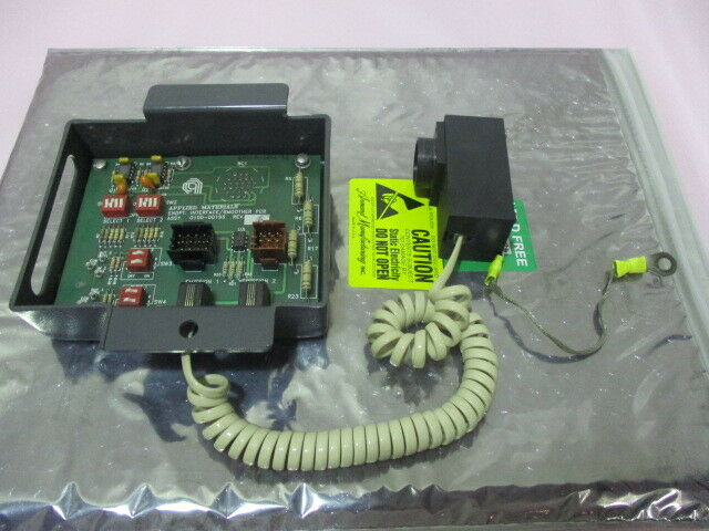 AMAT 0010-00561 w/ 0100-00195 Endpoint Interface/Smoother PCB, 400927