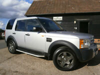 0505 LAND ROVER DISCOVERY 3 2.7TD V6 S TURBO DIESEL AUTOMATIC 7 SEATS 113K FSH