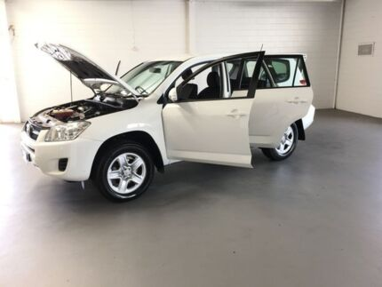 2009 Toyota RAV4 ACA33R MY09 CV White 4 Speed Automatic Wagon Frankston Frankston Area Preview