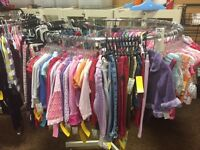 Clear out childrens clothing at $1.00/piece
