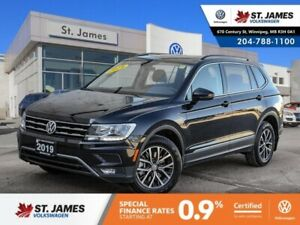 2019 Volkswagen Tiguan Comfortline 2.0TSI 4MOTION, LEATHER, BLUE