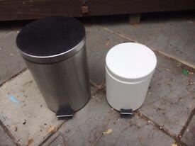 Pair peddle bins