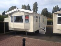 New Willerby Rio 3 bed on Talacre Beach caravan park North Wales