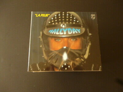 CD JOHNNY HALLYDAY - LA PEUR - PHILIPS - TTB ETAT
