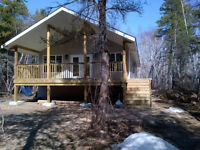 NEW! 3 Bed/2 Bath – 1300sq feet Cottage for Sale on 4.2 acres i