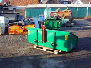 Heckcontainer  Container Transportbehälter  Heckbox  Mulde  Kipper   Traktor