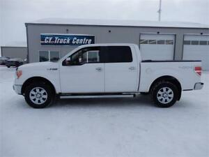 2010 Ford F-150 Lariat Crew Short: Lthr Low kms 4x4