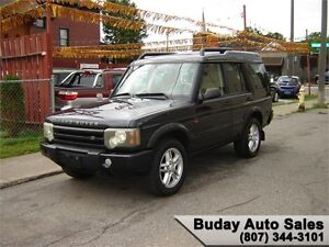 2004 LAND ROVER DICOVERY SE AWD.