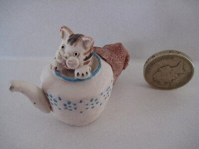 RARE ORIGINAL COLOUR BOX CAT PETER FAGAN HOME SWEET HOME HS612 KETTLE