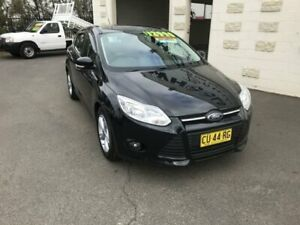 2014 Ford Focus LW MK2 Upgrade Trend Black 6 Speed Automatic Hatchback Dubbo Dubbo Area Preview