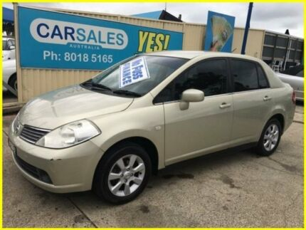 2006 Nissan Tiida C11 ST-L Champagne 4 Speed Automatic Sedan Kogarah Rockdale Area Preview