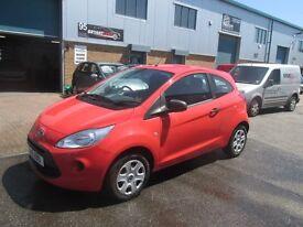 (new shape) ford ka 2011 11,plate 1.3 petrol low miles long mot s/history £2995 px/welcome