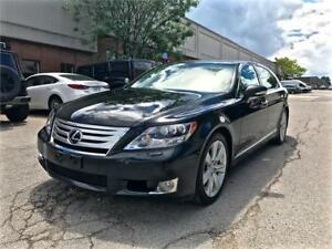2010 Lexus LS 600h L, AWD, HYBRID, NAV, COOLED SEATS, SELF PARK