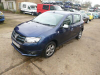 DACIA SANDERO - EY65OCA - DIRECT FROM INS CO