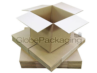 50 x 127x127x127mm SW MAILING SHIPPING CARDBOARD BOXES