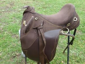 NEW AUSSIE SADDLE WITH HORN