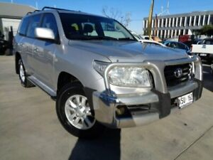 2007 Toyota Landcruiser UZJ200R GXL Silver 5 Speed Sports Automatic Wagon Enfield Port Adelaide Area Preview