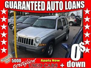 2005 Jeep Liberty Sport $0 Down - All Credit Accepted!