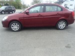 2010 Hyundai Accent GL auto New Oct MVI today 222 kms $2500.00