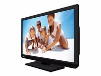 32 Toshiba LED TV/DVD Combi freeview built-in very good condition