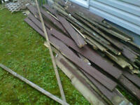 Scrap deck wood available
