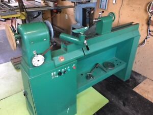 "Boice Crane 18""x44"" 2HP  Variable Speed Drive Wood Lathe 220V"