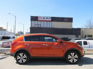 2013 Kia Sportage 2.4L EX AWD, Loaded CAMERA, BTOOTH, HEATED!