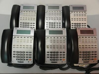 6 Nec Ip1na-12txh Business Telephones 22b Hfdisp Aspirephone-bk