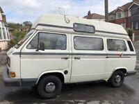 VW T25 high top campervan 1989 - Holdsworth conversion (Diesel)