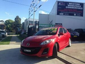 2009 Mazda 3 BK MY08 Maxx Sport Red 4 Speed Auto Activematic Hatchback St Marys Penrith Area Preview