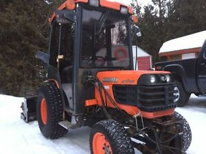 KUBOTA B7800 LAURIN CAB STEEL/GLASS DOORS UPDATE !!!!!!!!!!!!!!!